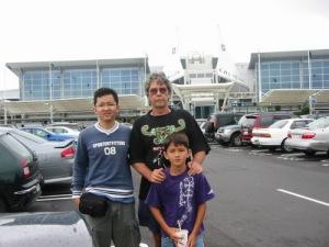 Riza, Hugh and Rafael